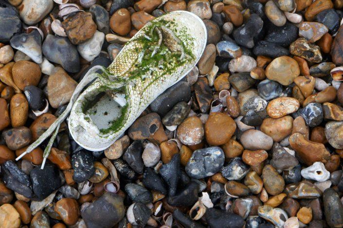 Day 2 - Abandoned shoe, Felpham beach