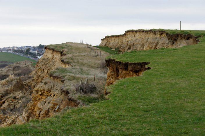 Day 10 - Landslip on Bowleaze cliffs near Weymouth