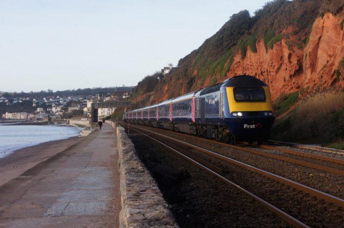 Day 15 - Express train, Dawlish