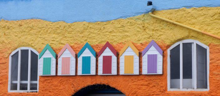 Day 16 - Colourful building decor, Goodrington