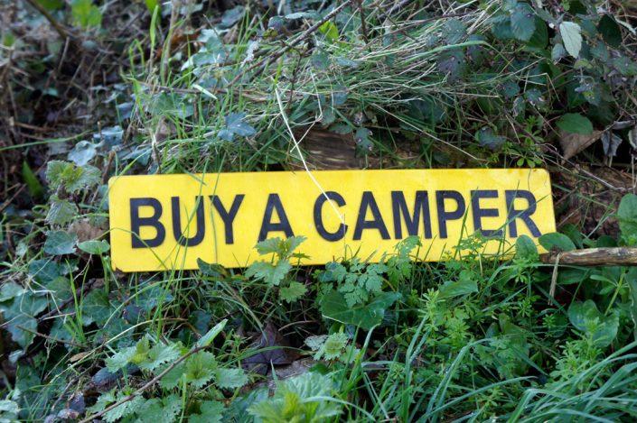 Day 19 - Camper sign