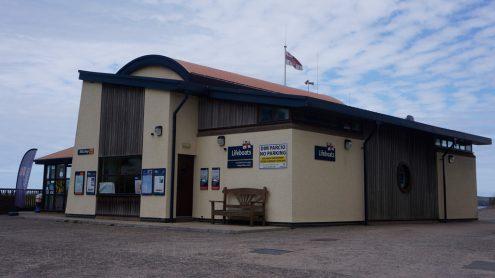 Cardign RNLI , lifeboat station, Poppit Sands
