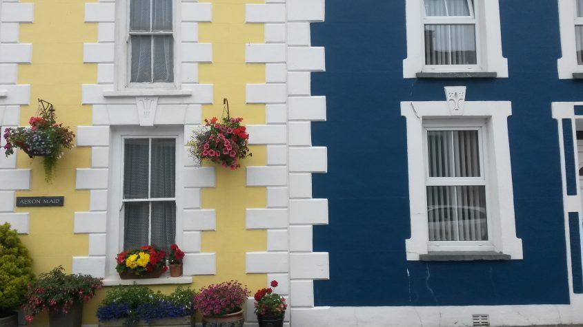 Colourful buildings in Aberaeron