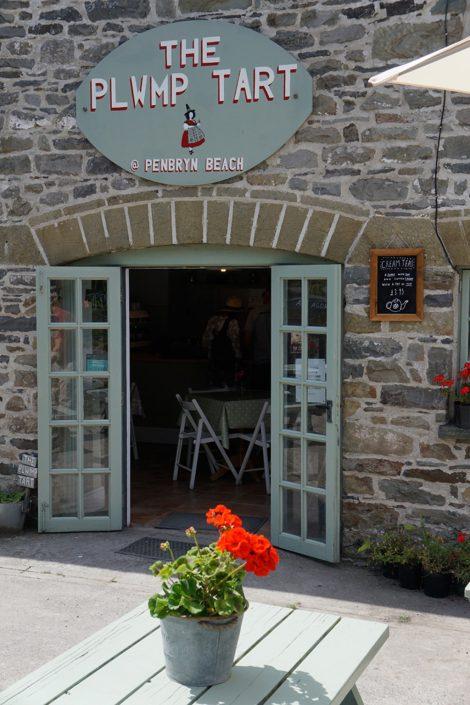 Plwmp Tart cafe, Llanborth