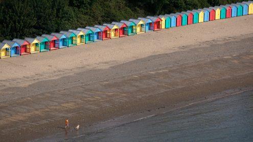 Beach huts, Llanbedrog