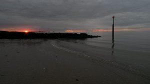 Sunset at Plumpudding Island