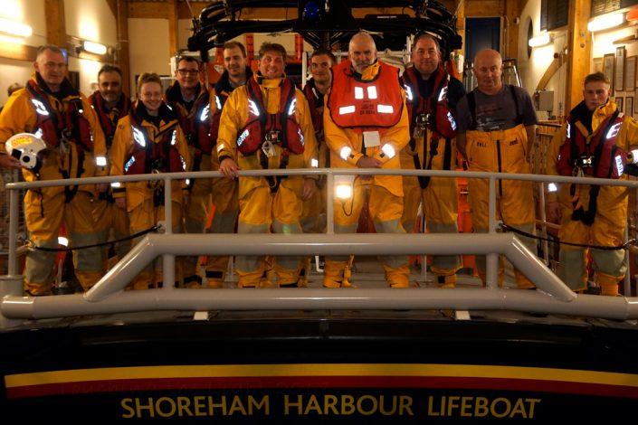 Shoreham Harbour Lifeboat
