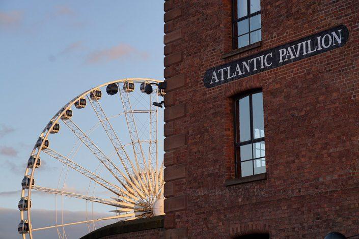 Day 61 - Ferris Wheel from Albert Dock, Liverpool