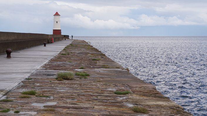 Fisherman and light, Berwick jetty, Berwick upon Tweed