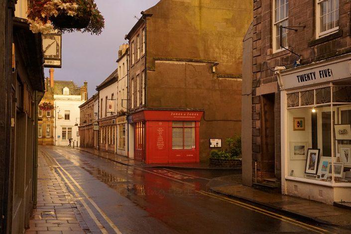 Shower, Bridge Street, Berwick upon Tweed