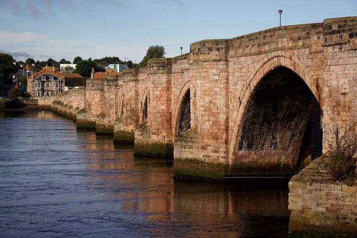 Berwick old bridge, Berwick upon Tweed