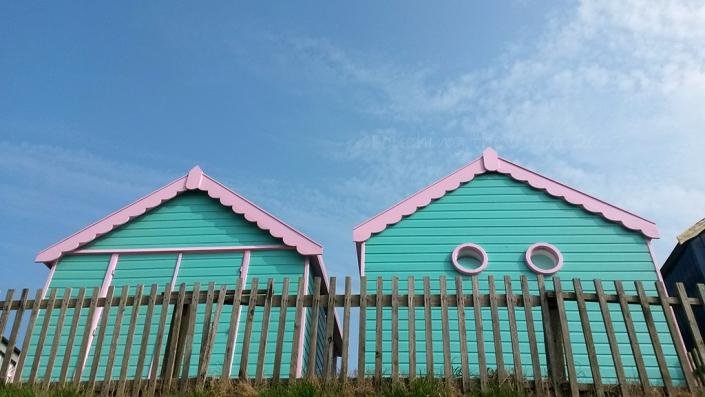 Beach huts at Chapel St. Leonards
