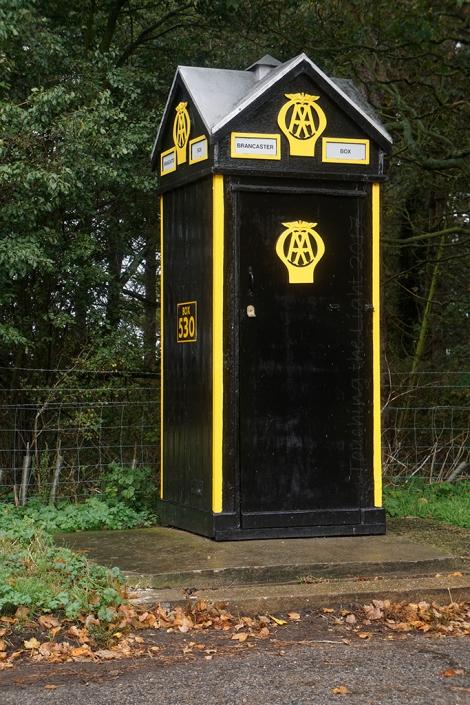 AA box, Burnham Deepdale