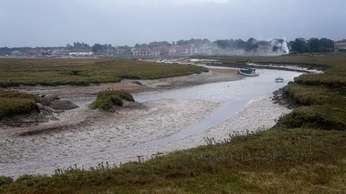 Sea wall path to Burnham Overy Staithe