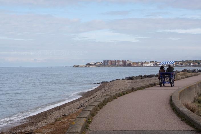 Day 99 - Sea wall path, Reculver to Birchington