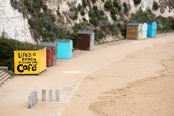 Day 100 - Beach huts, Broadstairs