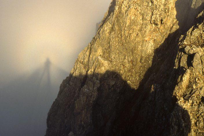 Brocken Spectre and Glory, Crib Goch, Snowdonia National Park