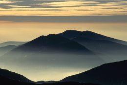 Mynnydd Mawr and Nantlle Ridge from Y Garn, Snowdonia National Park