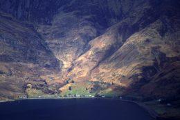 Arnisdale from Ladhar Bheinn, Knoydart, Scottish Highlands