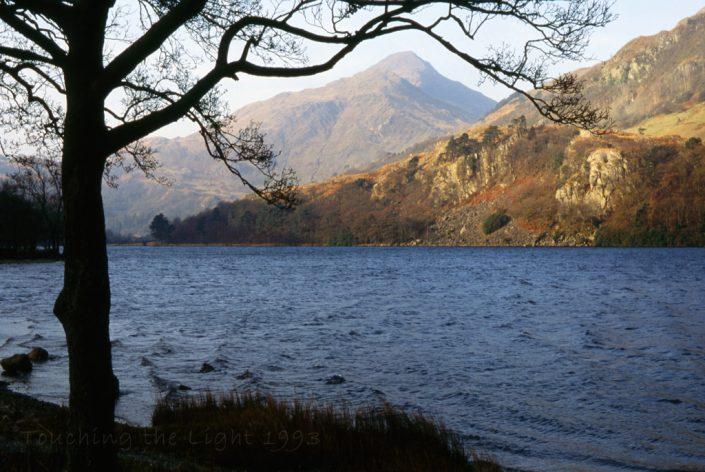 Yr Aran from Llyn Gwynant, Snowdonia National Park