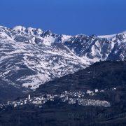 Mulhacen and Capileira, Sierra Nevada, Spain